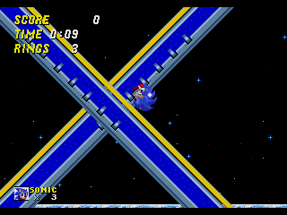 Screenshot Thumbnail / Media File 1 for Sonic the Hedgehog 2 (World) (Rev A) [Hack by Hachelle-Bee v1.81] (Long Version)